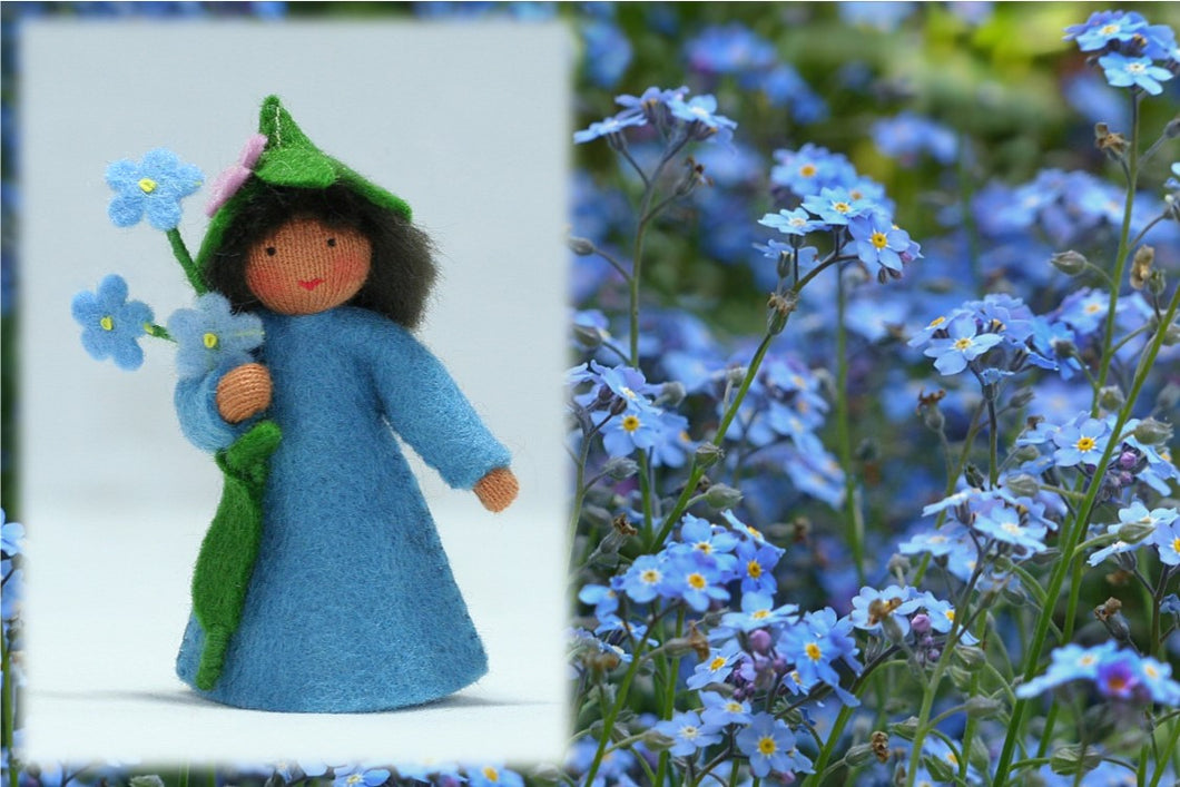 Forget-Me-Not Fairy | Waldorf Doll Shop | Eco Flower Fairies