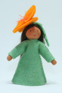 Golden Poppy Fairy | Waldorf Doll Shop | Eco Flower Fairies
