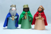 Three Kings | Waldorf Doll Shop | Eco Flower Fairies | Handmade by Ambrosius