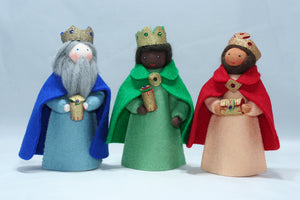 Three Kings | Waldorf Doll Shop | Eco Flower Fairies