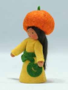 Pumpkin Fairy | Waldorf Doll Shop | Eco Flower Fairies