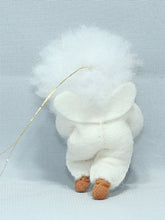 Snow Baby (bendable hanging felt doll, with snowball)