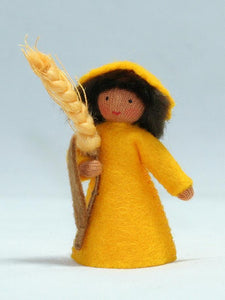 Wheat Prince | Waldorf Doll Shop | Eco Flower Fairies | Handmade by Ambrosius