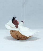 Baby in Walnut Manger | Waldorf Doll Shop | Eco Flower Fairies