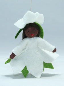 Christmas Rose Princess | Waldorf Doll Shop | Eco Flower Fairies