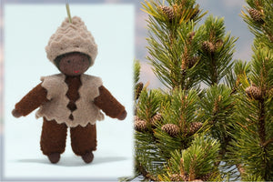 Pine Cone Baby | Waldorf Doll Shop | Eco Flower Fairies