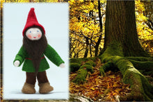 Forest Gnome (bendable felt doll)