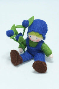 Blueberry Child | Waldorf Doll Shop | Eco Flower Fairies