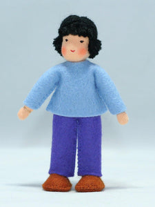Waldorf Boy Doll (light skin) | Waldorf Doll Shop | Eco Flower Fairies