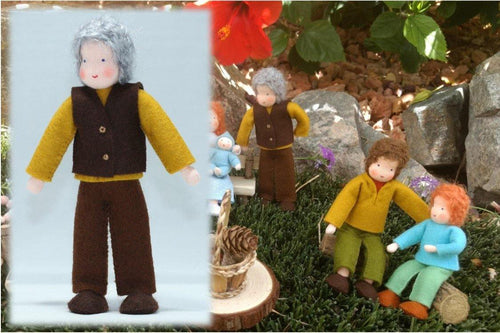 Grandfather Doll | Waldorf Doll Shop | Eco Flower Fairies