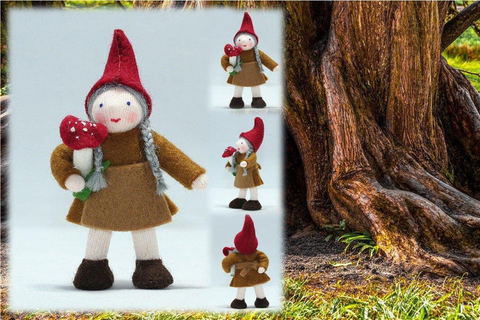 Forest Gnome Grandma | Waldorf Doll Shop | Eco Flower Fairies | Handmade by Ambrosius