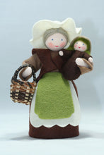 Mother Earth with Baby Seed | Waldorf Doll Shop | Eco Flower Fairies