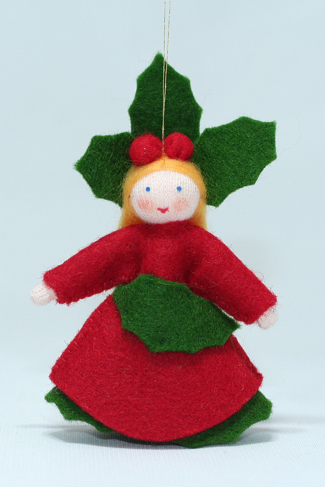 Holly Berry Princess | Waldorf Doll Shop | Eco Flower Fairies