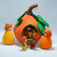 Pumpkin Felt House | Waldorf Doll Shop | Eco Flower Fairies