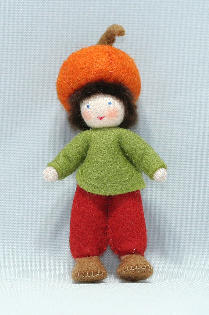 Pumpkin Child | Waldorf Doll Shop | Eco Flower Fairies