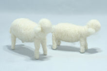 Holy Family (sheep decor) | Waldorf Doll Shop | Eco Flower Fairies