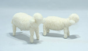 Three Shepherds (sheep decor) | Waldorf Doll Shop | Eco Flower Fairies