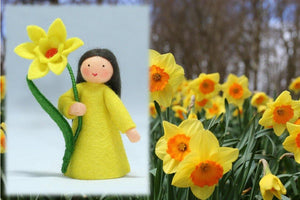 Daffodil Fairy | Waldorf Doll Shop | Eco Flower Fairies