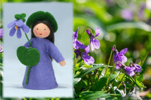 Sweet Violet Fairy | Waldorf Doll Shop | Eco Flower Fairies