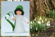 Snowdrop Prince | Waldorf Doll Shop | Eco Flower Fairies | Handmade by Ambrosius
