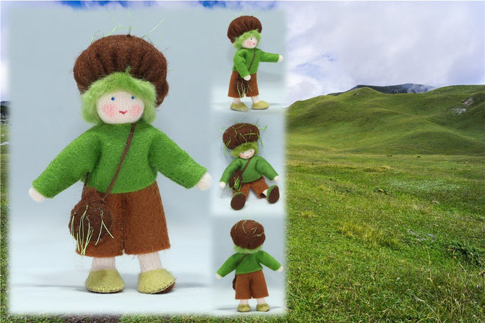 Earth Child | Waldorf Doll Shop | Eco Flower Fairies | Handmade by Ambrosius