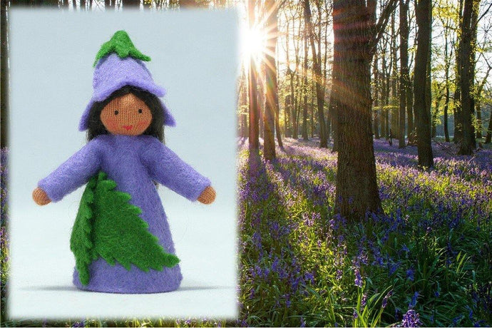 Bluebell Fairy | Waldorf Doll Shop | Eco Flower Fairies | Handmade by Ambrosius
