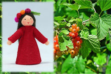 Redcurrant Fairy | Waldorf Doll Shop | Eco Flower Fairies | Handmade by Ambrosius