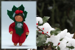 Baby Holly Berry | Waldorf Doll Shop | Eco Flower Fairies