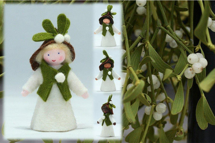 Mistletoe Prince (fair skin) | Waldorf Doll Shop | Eco Flower Fairies