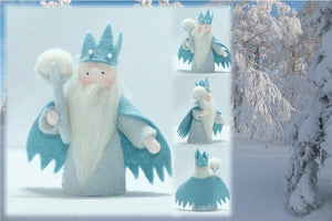Winter King | Waldorf Doll Shop | Eco Flower Fairies