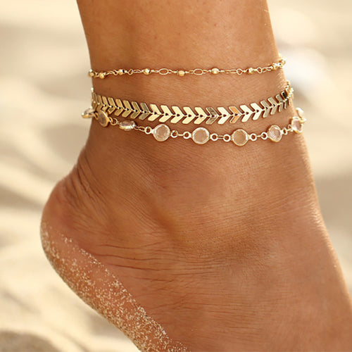 Anklet Crystal Sequence Set
