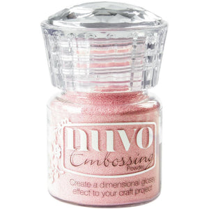 Nuvo Embossing Powder Pink