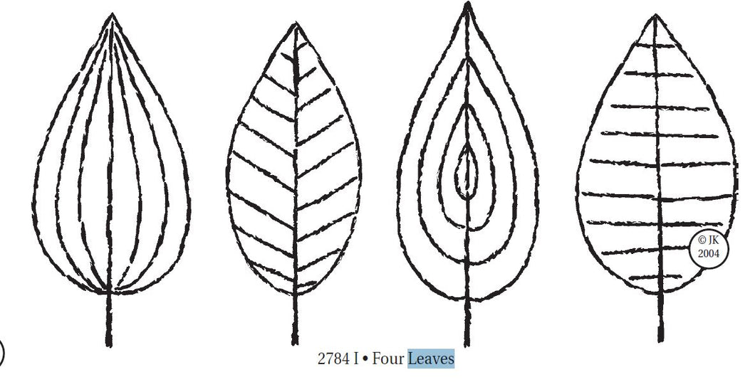 Stamp 4 Leaves