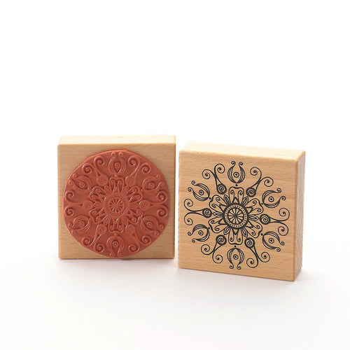 Flourish Mandala Stamp