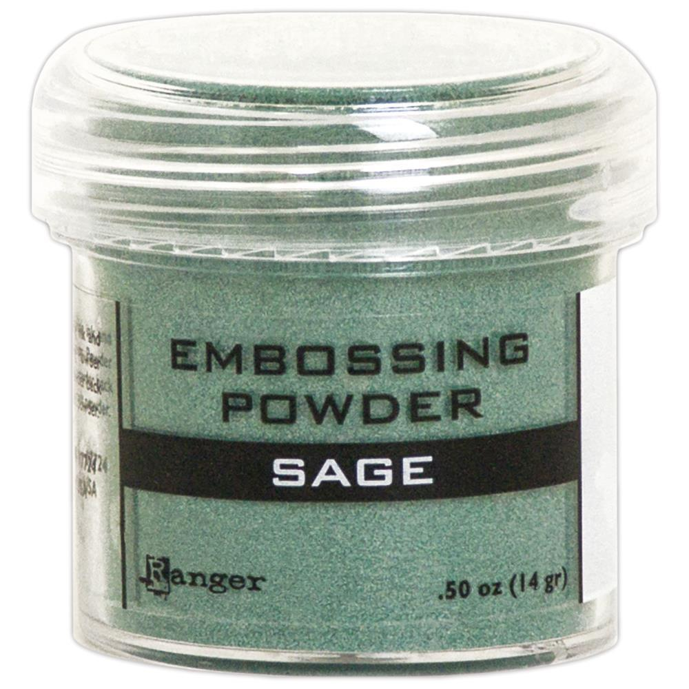 Embossing Powder Sage Metallic
