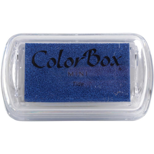 Mini Ink Pad ColorBox Pigment Tide