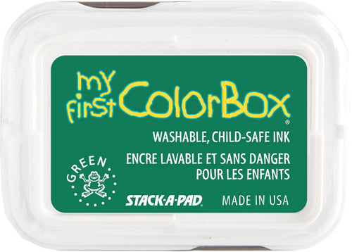My First ColorBox 2-Color Ink Pad Green