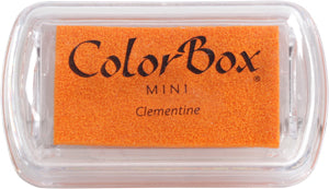 Mini Ink Pad ColorBox Pigment Clementine