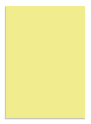Colorplan Sorbet A4 Yellow 135 gsm