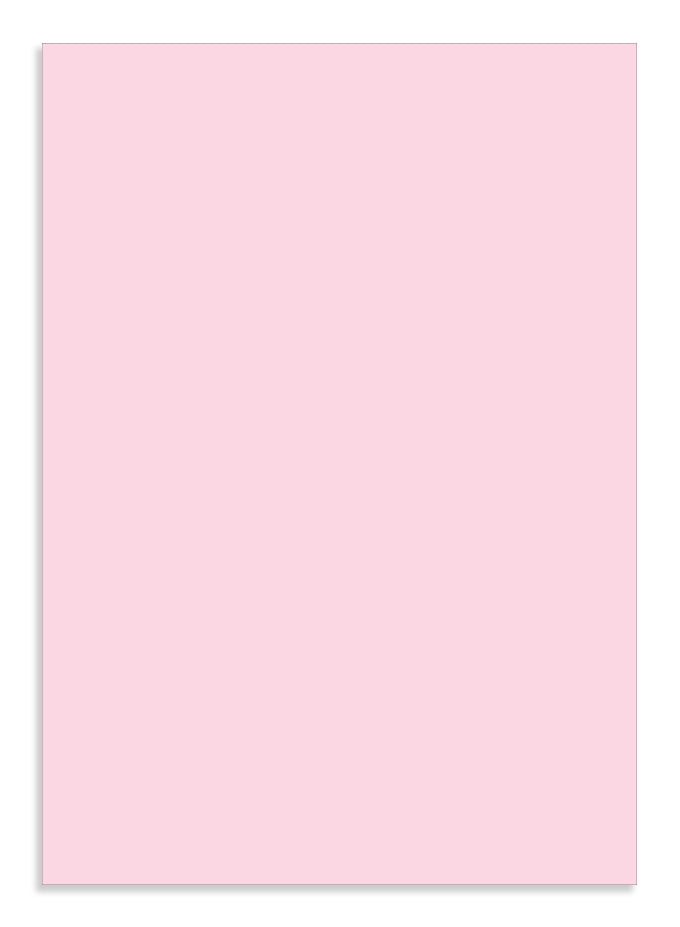 GP A4 Card 250gsm Fairy Pink