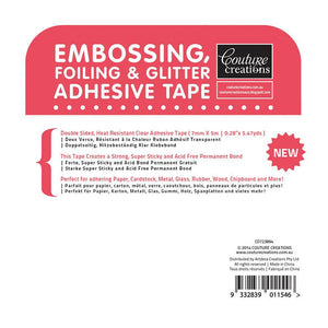 Adhesive - Embossing, Foil and Glitter Tape (7mm x 5m)