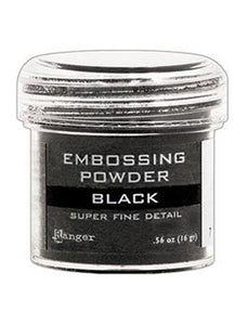 Embossing Powder Ranger Super Fine Black