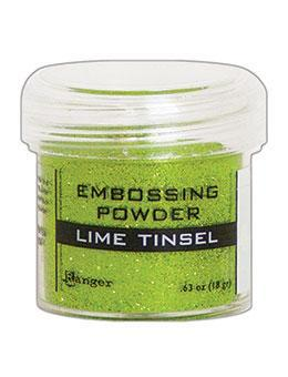 LIME TINSEL-EMBOSSING POWDER