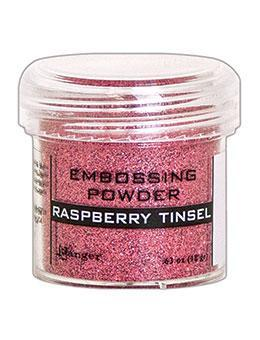 RASPBERRY TINSEL-EMBOSSING POWDER