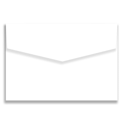 Envelope  80x130 mm iflap Marshmallow Crisp White