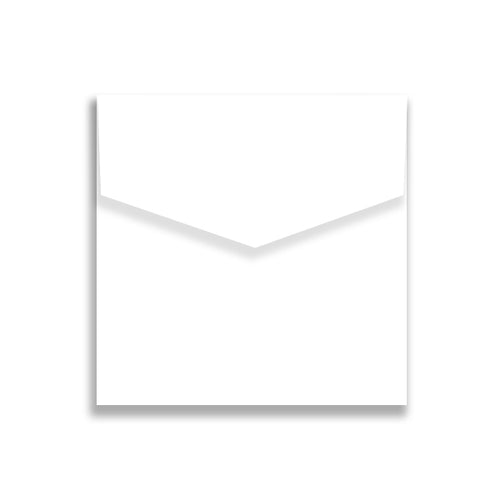 Envelope 130x130 mm iflap white
