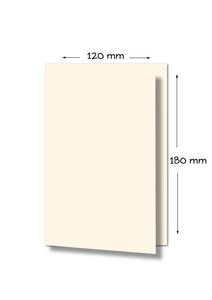 GP 120x180 Folded Card 250gsm Pouting Pearl