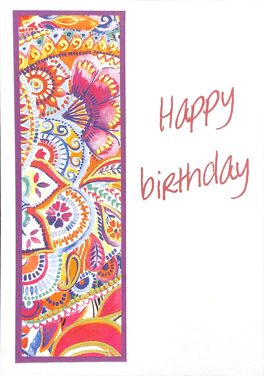 Greeting card 'Happy birthday'