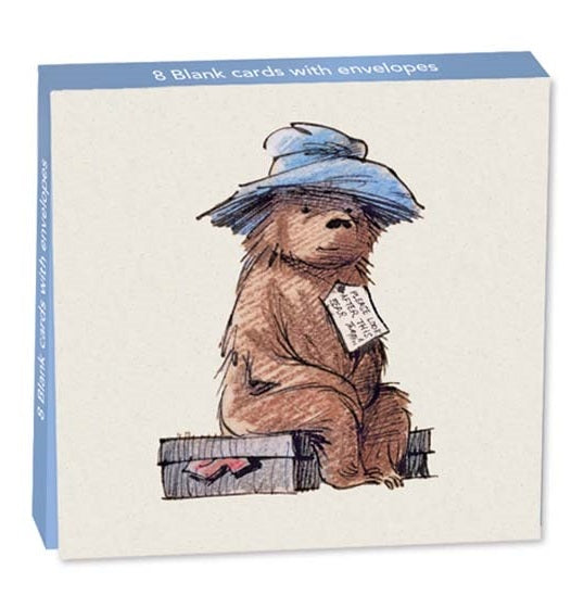 Cards with envelopes Paddington Bear