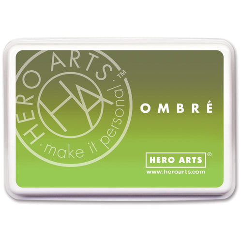 Ombre Ink Pad Lime to Forever Green